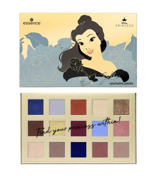 essence - *Disney Princess* - Belle Eyeshadow palette - 01: Don't judge a book by its cover