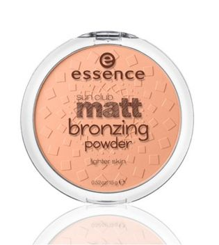 Sun Club Matt Bronzing Powder by essence #21