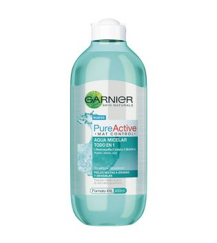 Garnier - Mat Micellar Water Control All in 1 Pure Active - 400ml
