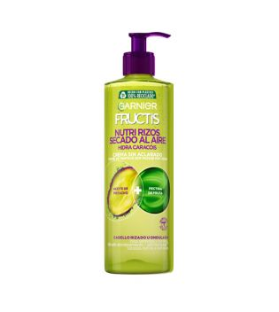 Garnier - Cream without Rinse Fructis Nutri Curls Air Dried - Curly or Wavy Hair