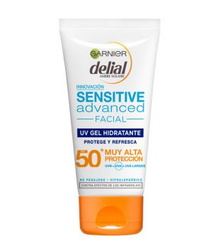Garnier - Delial Sensitive Advanced Facial Sunscreen - SPF 50+