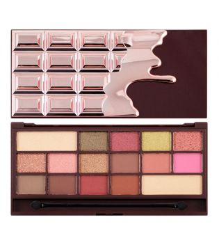 I Heart Makeup - Chocolate Palette - Rose Gold