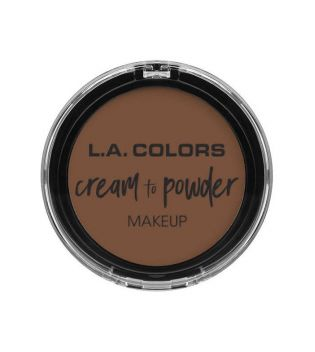 L.A Colors - Cream to Powder Foundation - Nutmeg