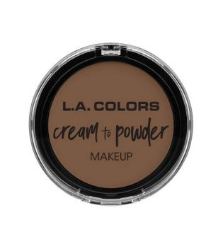 L.A Colors - Cream to Powder Foundation - Toast