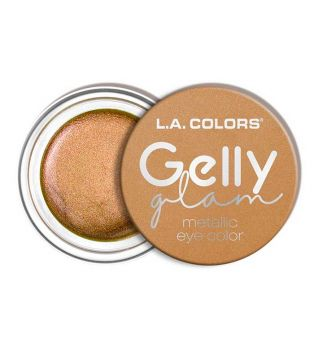 L.A Colors - Gelly Glam Metallic eyeshadow cream - CES281 Queen Bee