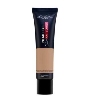 Loreal Paris - Infalible 24H Matte Cover Makeup base - 320: Toffee
