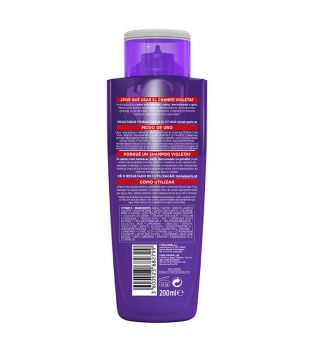 Loreal Paris - Violet Shampoo Elvive Color-Vive - Strand Hair, Blond or Gray