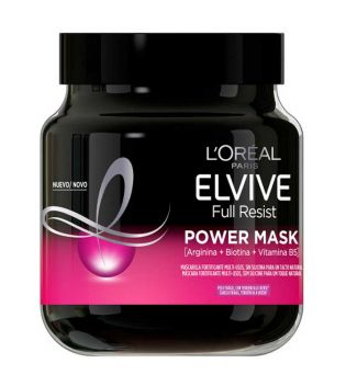 Loreal Paris - Fortifying mask Elvive Full Resist - Power Mask