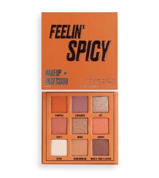Makeup Obsession - Feelin' Spicy eyeshadow palette