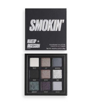 Makeup Obsession - Smokin' eyeshadow palette