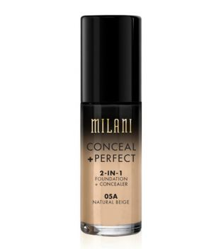 Milani - Conceal+Perfect 2-in-1 Foundation - 05A: Natural Beige