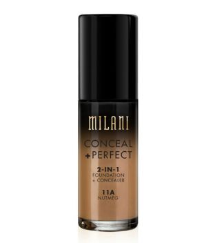 Milani - Conceal+Perfect 2-in-1 Foundation - 11A: Nutmeg