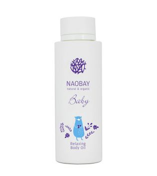 Naobay - Relaxing body oil for baby