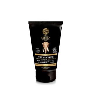 Natura Siberica - *For Men* - Shaving clay and mask 2 in 1 - The mammoth