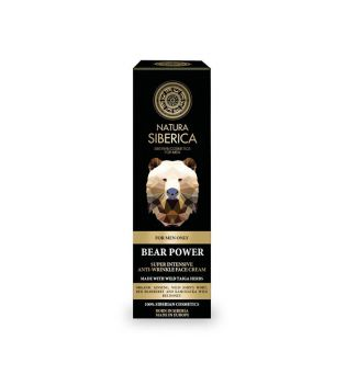 Natura Siberica - *For Men* - Intensive wrinkle face cream - The power of the bear