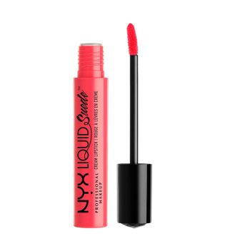 Nyx Professional Makeup - Suede Cream Lipstick - LSCL02: Life's a Beach