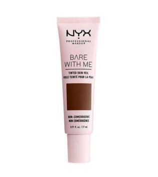 Nyx Professional Makeup - Bare With Me Fluid foundation - BWMSV12: Deep Espresso