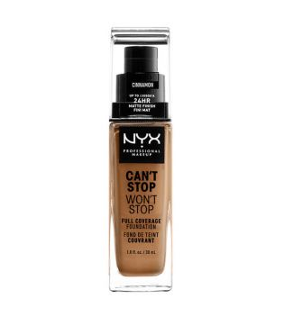 Nyx Professional Makeup - Can't Stop won't Stop foundation - CSWSF10.3: Cinnamon