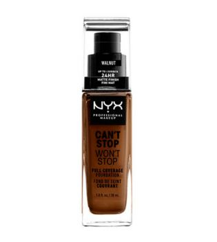 Nyx Professional Makeup - Can't Stop won't Stop foundation - CSWSF10.3: Walnut