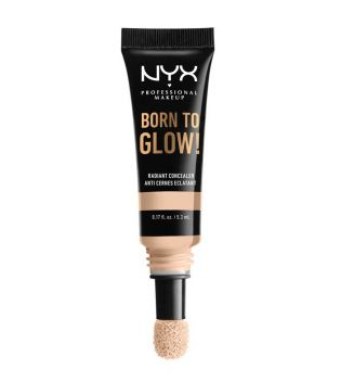 Nyx Professional Makeup - Born To Glow Concealer - Light Ivory