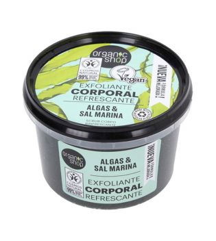 Organic Shop - Body scrub - Organic seaweed and sea salt