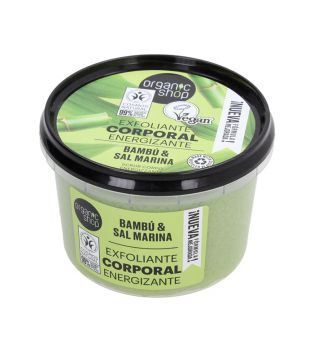 Organic Shop - Body scrub - Organic bamboo and sea salt