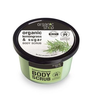 Organic Shop - Body scrub - Organic citronella and sugar