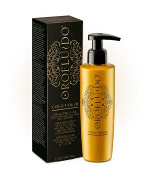 Orofluido - Conditioner shine, silkiness and color protection