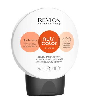 Revlon - Color Nutri Color Filters 3 en 1 Cream 240ml - 400: Tangerine