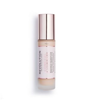 Revolution - Conceal & Hydrate Foundation - F10.2