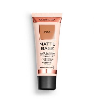 Revolution - Matte Base Foundation - F12.5