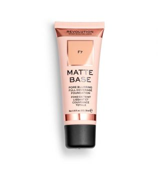Revolution - Matte Base Foundation - F7