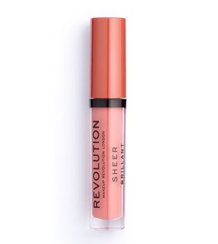 Revolution - Sheer Lip Lipgloss - 107 RBF