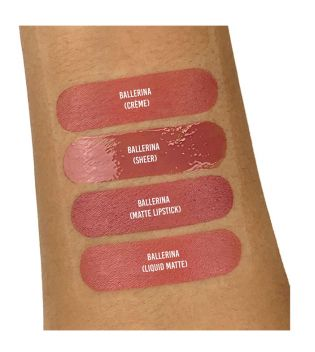 Revolution - Sheer Lip Lipgloss - 112 Ballerina