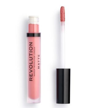 Revolution - Matte Lip Liquid Lipstick - 114 White Wedding