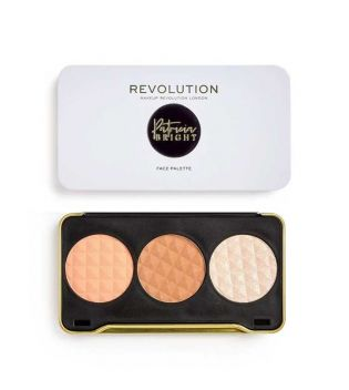 Revolution - Patricia Bright Face Palette - Moonlight Glow
