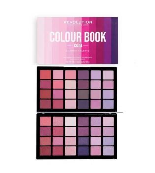 Revolution - Colour Book Eyeshadow Palette - CB04