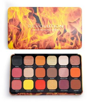 Revolution - Forever Flawless Eyeshadow Palette - Fire