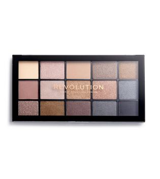 Revolution - Reloaded Eyeshadow Palette - Smoky Newtrals