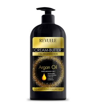 Revuele - Cream for hands and body Argan Oil