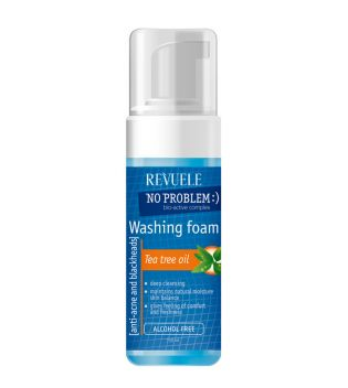 Revuele - No problem Washing Foam - Tea Tree Oil