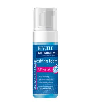 Revuele - Foam anti-acne and pimples - Salicylic Acid