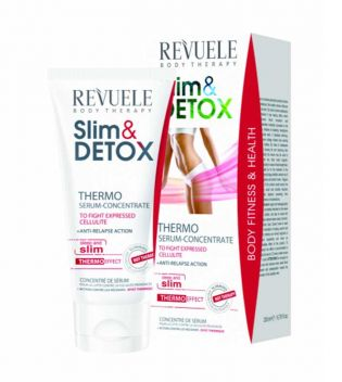 Revuele - Slim & Detox Anti-celullite Thermo Serum Concentrate