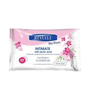 Revuele - Intimate wipes for sensitive skin