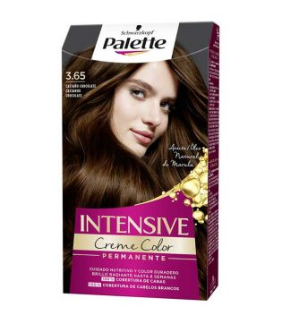 Schwarzkopf - Coloring Palette Intensive Creme Color - 3.65: Chocolate chestnut
