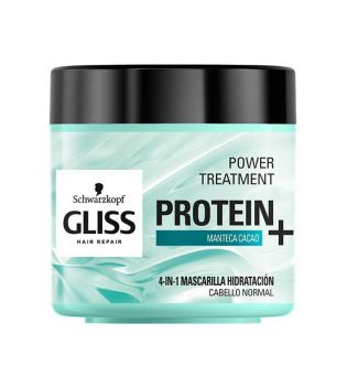 Schwarzkopf - Moisturizing mask GLISS protein + normal hair - Cocoa butter