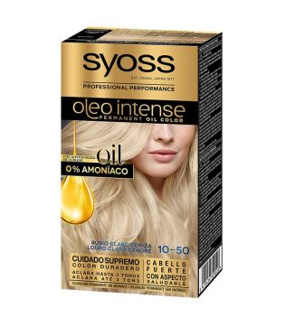 Syoss - Dye Oil Intense 10-50 Light Blond Ash