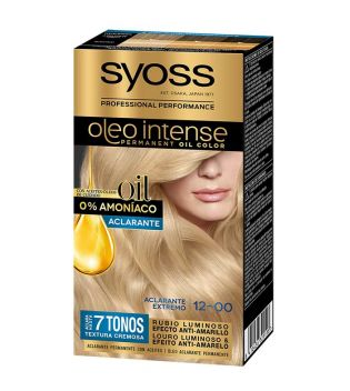 Syoss - Dye Oil Intense 12-00 Extreme Clarifying