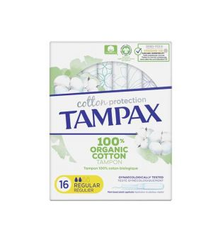 Tampax - Regular tampons Cotton Protection - 16 units
