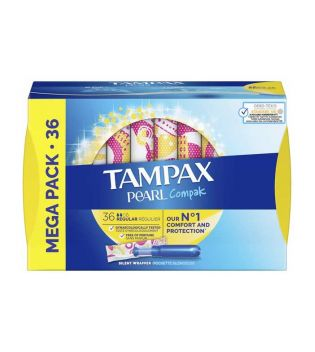Tampax - Regular tampons Pearl Compak - 36 units